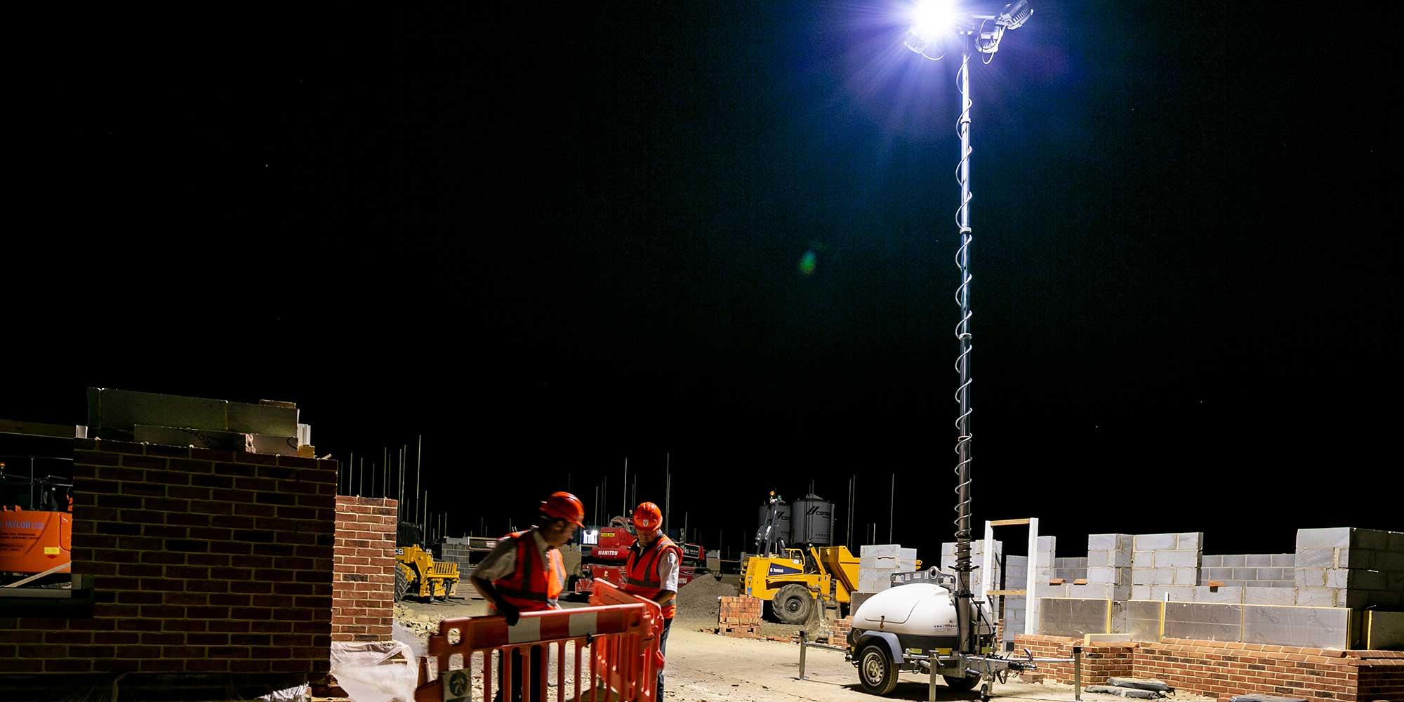 Ecolite-T Diesel portable lighting tower